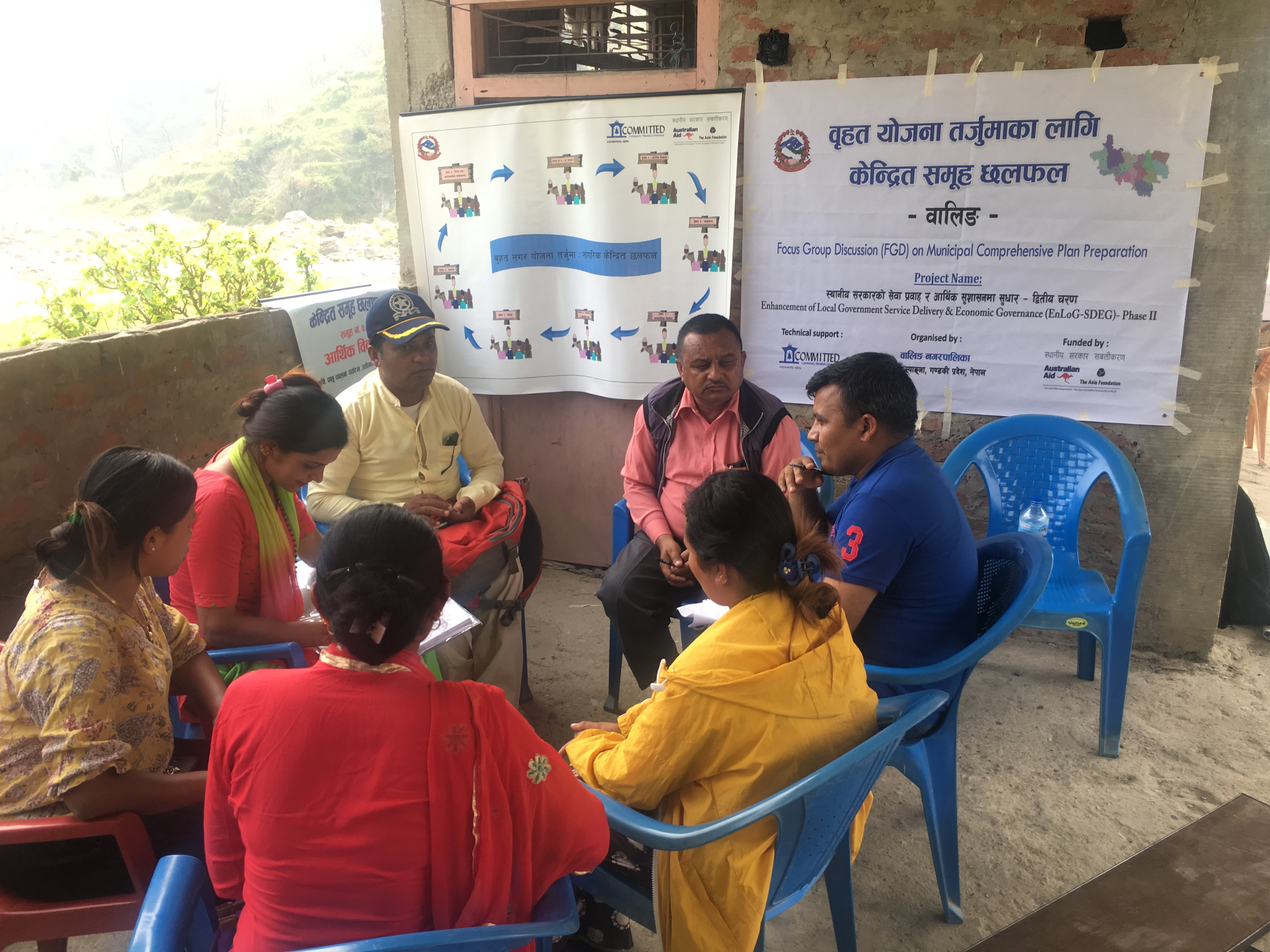 Focus Group Discussion in Tikapur Municipality for the development of Municipal Comprehensive Plan.